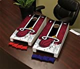 Victory Tailgate Miami Heat NBA Desktop Mini Cornhole Game Set