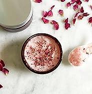 Rose & Ylang Ylang Body Scrub | 100% Natural | Sugar Scrub | Body Polish | wide mouth jar