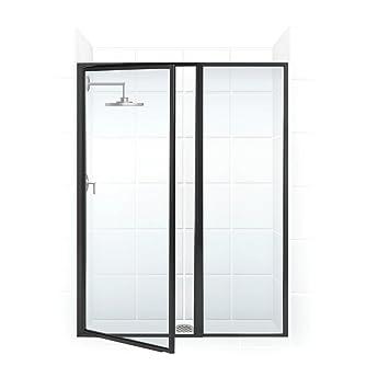 Amazon.com: Legend Framed Swing Shower Door and Inline Panel Opening ...