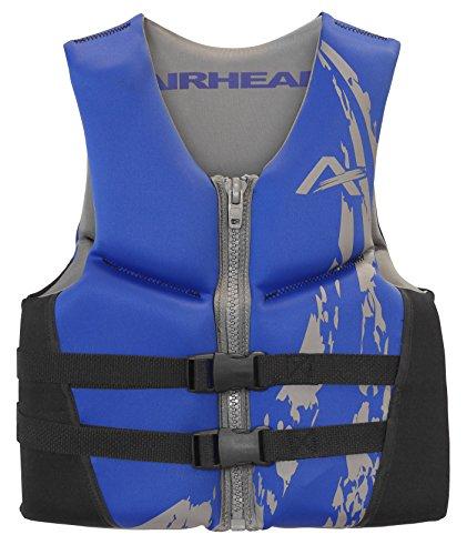 AIRHEAD SWOOSH Kwik-Dry Neolite Flex Vest, Blue