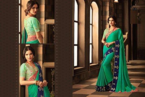 100 originale Women Costume tradizionale Wedding Skirt Saree Sari Wear etnico 942 Party indiano Dress qXnITRF