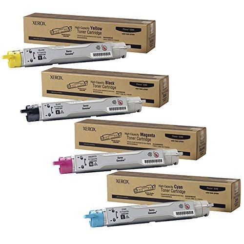 Xerox Phaser 6300 High Yield Toner Cartridge Set