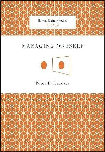 `FULL` Managing Oneself (Harvard Business Review Classics). Williams Produkt dominio pilas Frank Chrome