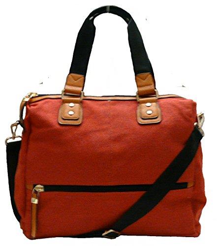 Le sac de femme. Sac à bandoulière. Sac traversée. Coral toile.