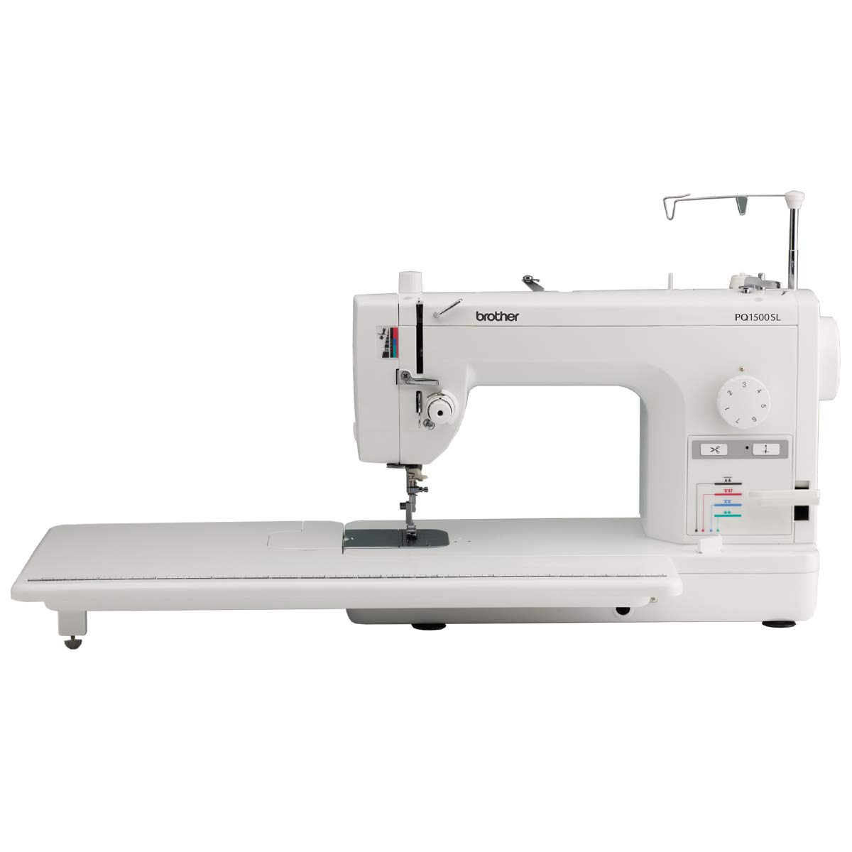 Brother PQ1500SL Sewing and Quilting Machine, Up to 1,500 Stitches Per Minute, Wide Table, 7 Included Feet