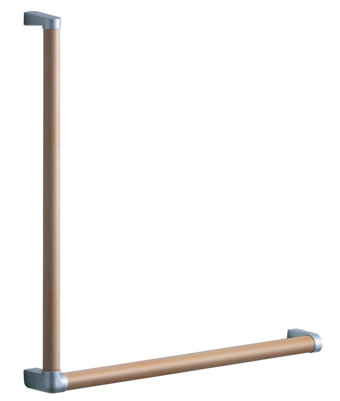 TOTO 天然木手すり 61シリーズ (Lタイプ) 61.7×61.7cm ミルベージュ YHB601LA#MLW B06XPFXJ1X  ミルベージュ