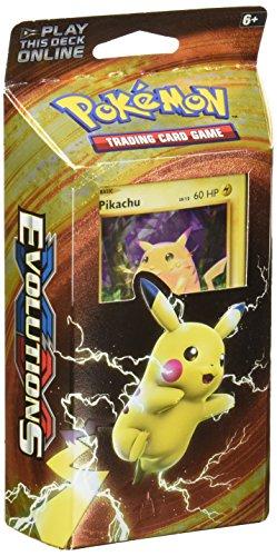 Pokemon TCG: XY Evolutions, 60 Card Theme Deck Featuring Either Pikachu Power Or Mewtwo Mayhem