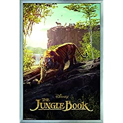"Trends International the Jungle Book-Tiger Wall Poster, 24.25"" x 35.75"", Multicolor"