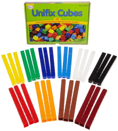 - Unifix Cubes - Package of 300 - 10 Colors