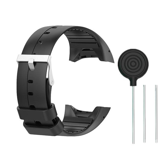 Amazon.com: Pulsera de silicona para Polar M400/Polar M430 ...