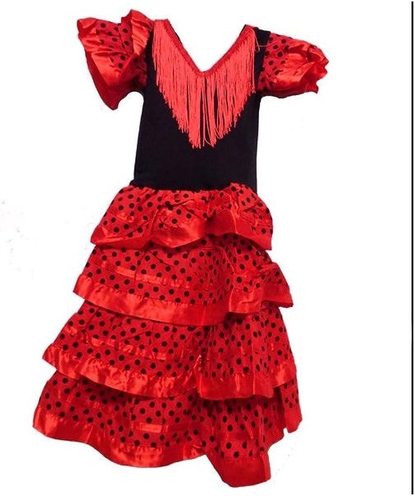 ZiNGS Disfraz infantil de baile flamenca - 2 años: Amazon.es: Ropa ...