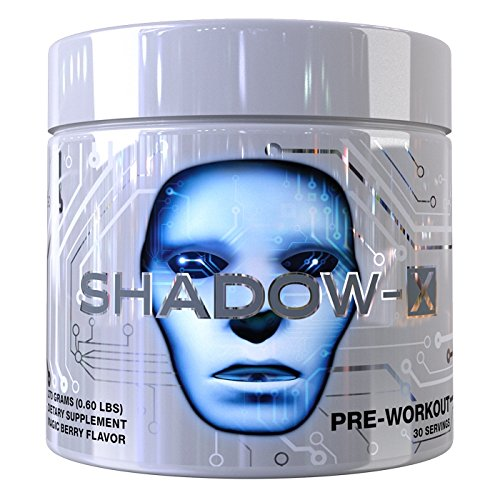 Cobra Labs Shadow X Pre Workout Supplement, Neon Tropic, 0.6 Pound