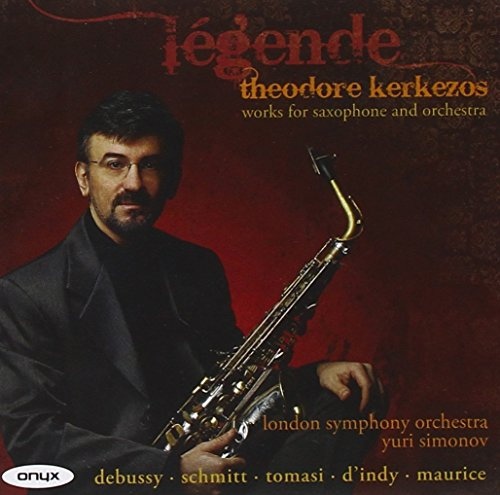 Legende - Works For Saxophone and Orchestra