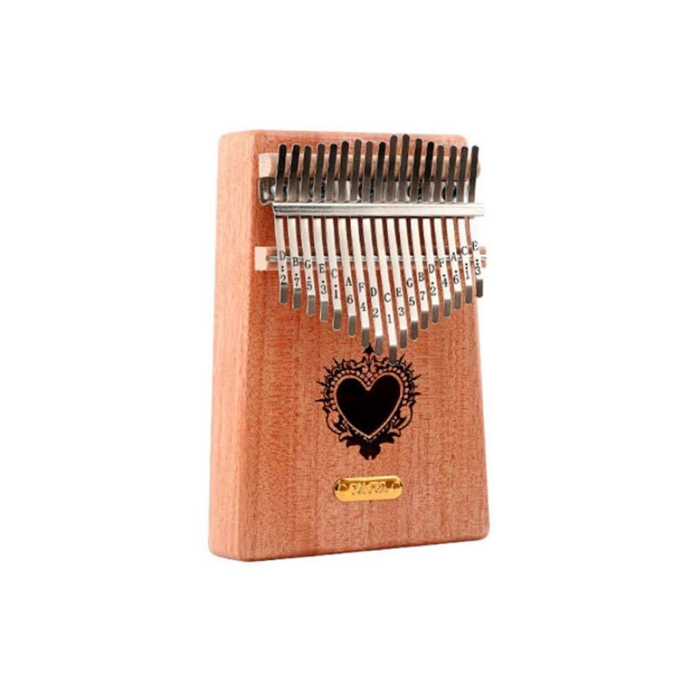 Youshangshipin Kalimba, 17-tone New Youth Minimalist Design Style Kalimba Thumb Piano, Students Adult Professional Playing Universal Style (style 12, Gifts; Thick Box, Color Sound Stickers, Tuning Ham