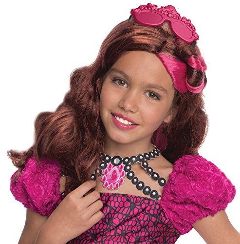 Ever After High Costumes Briar Beauty (Rubies Ever After High Child Briar Beauty Wig with Headpiece)