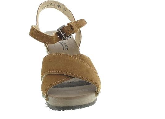 f54224ec0e522d Softclox Daniela Sandalette braun  Amazon.de  Schuhe   Handtaschen