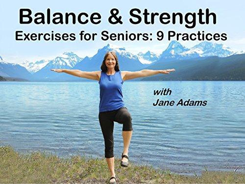 Amazon Com Balance Amp Strength Exercises For Seniors 9