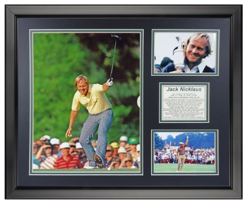 Nicklaus Photo (Legends Never Die Jack Nicklaus Framed Photo Collage, 16
