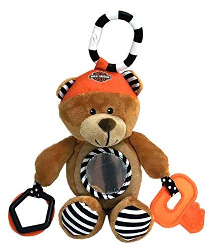 Harley-Davidson Sensory Plush Honey Bear