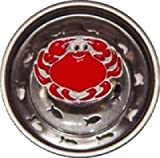 Seafood Crab Kitchen Sink Strainer Drain Decor