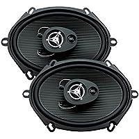 Power Acoustik EF-573 5x7 3-Way Coaxial Speaker 200W