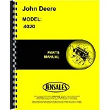New Parts Manual For John Deere Tractor 4020