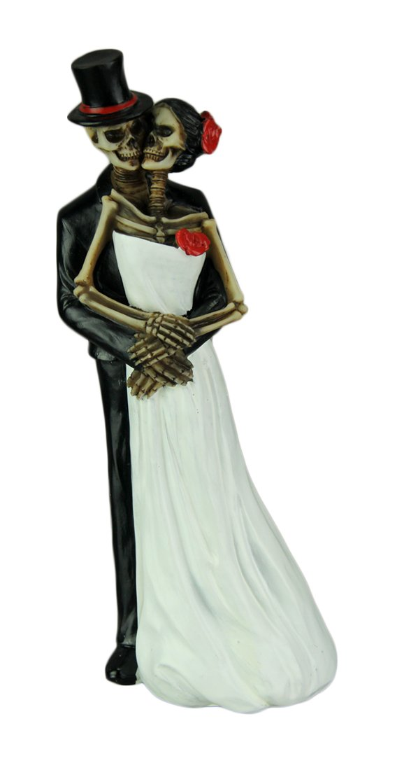 Day of the Dead Skeleton Couple Wedding by DWK
