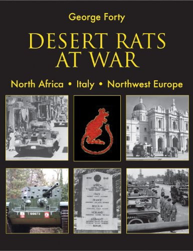 Read Online Desert Rats at War: North Africa. Italy. Northwest Europe ebook