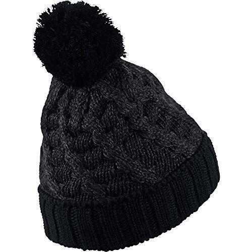 8e8012c30d8 ... netherlands jordan jumpman cable pom beanie hat cap black black 706608  011 import it all c3d55 ...