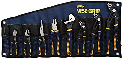Irwin Tools IRW2078712 Vise-Grip 8-Piece Groovelock/Pro Pliers Set