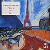Paris in Art 2019 Wall Calendar