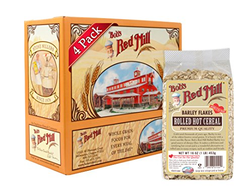Barley Flakes (Bob's Red Mill Barley Rolled Flakes, 16-Ounce (Pack of 4))