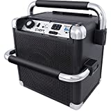 ION Audio Job Rocker Plus Bluetooth Speaker - Black (Certified Refurnished)