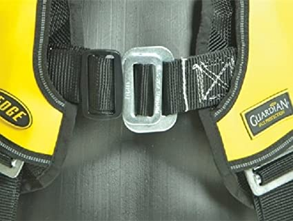 Small Yellow//Black Guardian Fall Protection 181160 Basic HUV Premium Edge Series Harness with Pass-Thru Chest Buckles and Leg Tongue Buckles