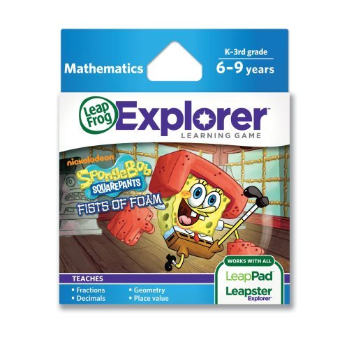 LeapFrog Explorer Game  SpongeBob SquarePants Fists of Foam (for LeapPad and Leapster) by LeapFrog