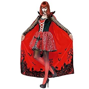 Partilandia Disfraz Vampiresa Delux para Mujer (S): Amazon.es ...