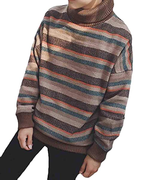 XQS Mens Casual Fashion Pullover Slim Fit Long Sleeve Assorted Color Knit Sweater