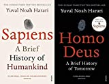 Books : BY [Yuval Noah Harari] A Brief History of Humankind Sapiens & Homo Deus: A Brief History of Tomorrow[Paperback]