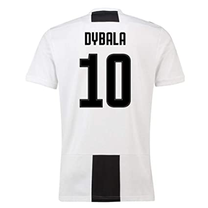 72cfe09adbe Amazon.com   2018-19 Juventus Home Football Soccer T-Shirt Jersey (Paulo  Dybala 10) - Kids   Clothing