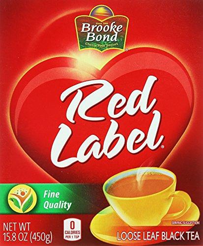 450g Tea - Brooke Bond, Red Label Loose Leaf Black Tea, 450g(gm)