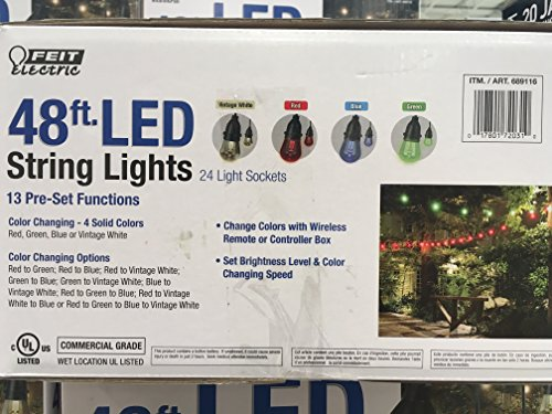 Feit Electric 48ft Led String Light By Feit Led Light Deals