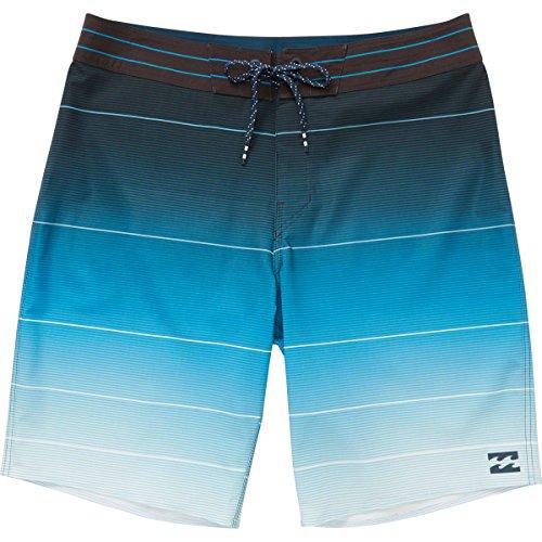 Billabong Men's Fluid Airlite Boardshorts Neo Blue 34 -