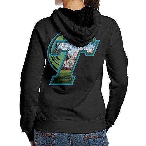 [BNBN Women's Tulane Green University Sweater On The Back Size L Black] (Lsu Mascot Costume)