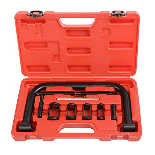 TOMTOP Valve Clamps Spring Compressor Automotive Tool Set Repair Tool Car Motorcycle by TOMTOP
