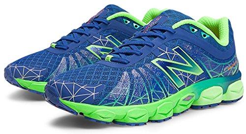 New Balance Men's M890 Running Shoe,Blue/Green,7 4E US
