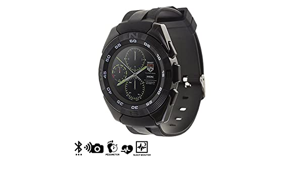 Silica DMT178BLACK - Smartwatch g5 con Pantalla Circular, Color ...