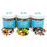 Halloween - Candyfetti Candy Sprinkle Collection - Beautiful Sprinkles that actually taste Great!