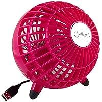Chillout Portable USB Fan - 4 1/2 Personal Fan Pink