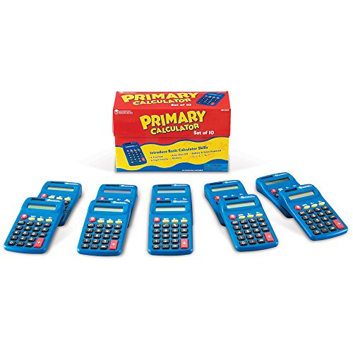 Primary Calculator Set of 10 product image