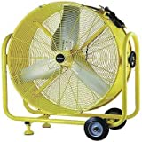 Dayton 24 Mobile Outdoor Air Circulator, 3600/5800 cfm, 2RDZ1